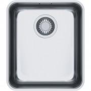 Chiuveta Franke Aton 122.0204.647 ANX 110-34, 370 x 430mm, Montare sub blat, 1 cuva, Inox satinat