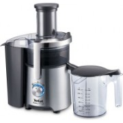 Tefal Easy Fruit Metal ZE610D38 800 W Juicer(Stainless steel & Dark Grey, 1 Jar)