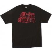 utcai póló férfi - DEAD ZONE - METAL MULISHA - M345S18305.01_BLK