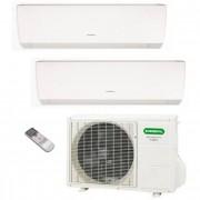 General Fujitsu Climatizzatore/Condizionatore Fujitsu General Dualsplit Parete AOHG14LAC2 + ASHG07LMCA + ASHG07LMCA