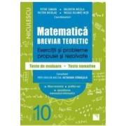 Matematica - Clasa 10 - Breviar teoretic filiera teoretica profilul real mate-info - Petre Simion
