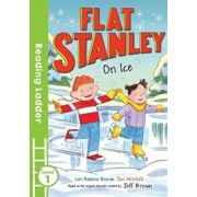 Flat Stanley On Ice, Paperback/Lori Haskins Houran