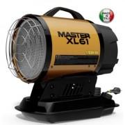 XL 61 Master Tun de aer cald cu infrarosu pe motorina , putere maxima 17 kW