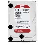 Western Digital WD Red NAS HDD 3TB 3,5' SATA 64MB 5400RPM