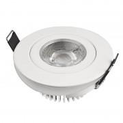 Designlight Desiglight downlight LED 5W vit DB-221W 510lm 3000K 230V IP44