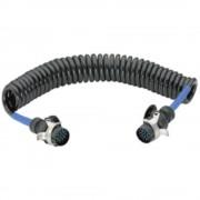 Spiralni kabel za povezivanje SecoRüt, 15-polni utič, 24 V 40520