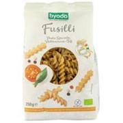 Paste Fainoase Fusilli din Orez Integral si Teff Fara Gluten Bio 250 grame Byodo
