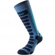 Lenz Socks Skiing Kids 1.0 blue/navy