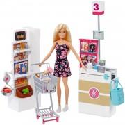 Barbie Muñeca Vamos Al Supermercado Accesorios Muñeca Mattel