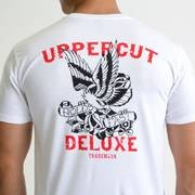 Uppercut Deluxe Men's Eagle T-Shirt - White - S - Vit