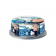 Philips írható CD-R * 25 CakeBox Printable írható CD