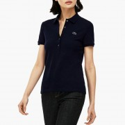 Lacoste Kadin Slim Fit Beyaz Polo PF7845 166