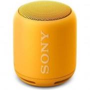 Boxa portabila Sony SRSXB10Y, EXTRA BASS, Bluetooth, NFC, Wi-Fi, Rezistenta la stropire, Galben