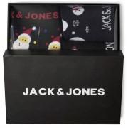 Jack&Jones; Gift Box Snowmen svart