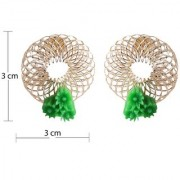 Sukkhi Exquitely Gold Plated Stud Earring For Women