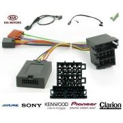 COMMANDE VOLANT Kia SOUL 2012- AVEC AMPLI NUMERIQUE FIBRE - Pour Pioneer complet avec interface specifique