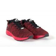 Gorilla Wear Brooklyn Knitted Sneakers (unisex) - Red/Black - 42