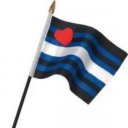 Leatherpride Flag On Stick Small