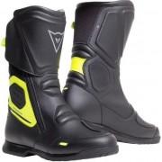 Dainese X-Tourer D-WP Boots Black/Fluo Yellow 44