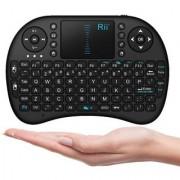 Shivrun Wireless Touchpad Keyboard Wireless Mini Keyboard Bluetooth Multifunction Mini Wireless Air Mouse Keyboard
