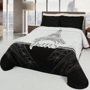 Cuvertură de pat Eiffel, 240 x 260 cm, 240 x 260 cm