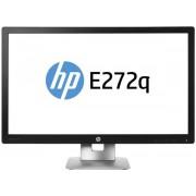 "Monitor LED HP EliteDisplay 27"" E272q, QHD (2560 x 1440), HDMI, VGA, DisplayPort, 7 ms (Negru)"