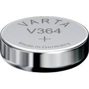 Baterie buton oxid de argint 364, 1,55 V, 20 mAh, Varta