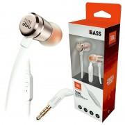 Auriculares com Microfone JBL T290 Pure Bass - Dourados Rosados