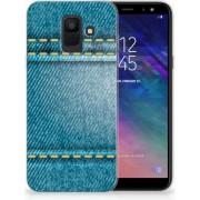 Samsung Galaxy A6 (2018) TPU Hoesje Design Jeans
