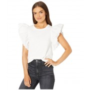 See by Chloe Embellished T-Shirt White Powder