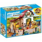 Granja De Los Ponys Playmobil Linea Country Original - 6927