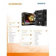 Gigabyte GA-B250M-D2V s1151 B250 2DDR4