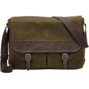Fossil Buckner Messenger Bag(Green, 17 L)