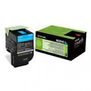Lexmark 80C2HC0 Original Toner Cartridge Cyan