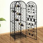 vidaXL Wine Rack for 45 Bottles Metal
