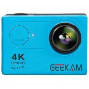 """Cámara Sport Cam H9R HD 4 K/25fps WiFi 2.0 """"170D Subacuática Impermeable- Azul"""