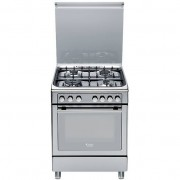 Ariston Hotpoint/ariston Cx65s7d2 It (X)/ha Cucina 60x60 4 Fuochi A Gas Forno Elettrico