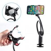 SOONHUA Soporte para Teléfono Soporte Perezoso Universal de 360 ?? para Montaje en Mesa Flexible para iPhone Series/Samsung Cellphones/Google Pixel Y Más