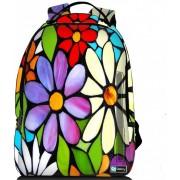 Sleevy laptop rugzak 17,3 Deluxe bloemen
