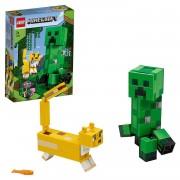 Minecraft LEGO Minecraft - BigFig Creeper und Ozelot
