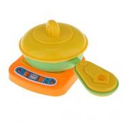 ELECTROPRIME Cooking Kitchenware Set Kids Children Kitchen Cook Role Play Pretend Toy Kit