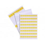 Kabeletiket Fleximark 25 x 12.70 mm Kleur van het label: Geel LAPP 83256142 LCK-32 YE Aantal etiketten: 64
