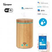 Wifi inteligentný ultrazvukový aróma difuzér s LED pásik
