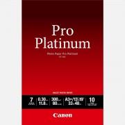 Canon Papier photo professionnel Platinum A3 Plus Canon PT-101 - 10 feuilles