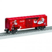 Lionel Trains 682879 Coke Christmas Boxcar Train