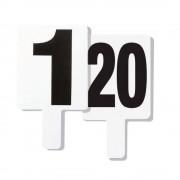 Set 20 numere schimb jucator