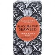 Crabtree & Evelyn Black Sea Mud & Seaweed jabón de lujo con algas marinas y barro 158 g