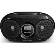 Microsistem audio Philips AZ318B12 CD Player Tuner FM USB AUX 3W Negru
