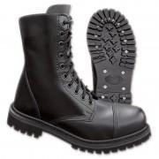 Brandit 10 Eyelet Boots Black 44