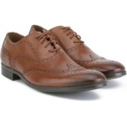 Clarks Conwell Wing Brogues For Men(Brown)